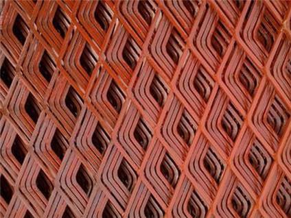菱形钢笆网1